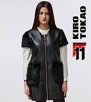 11 Киро Токао | Женская жилетка весна-осень 4774 черный