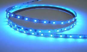 Светодиодная лента 3528 60 диодов\метр (SMD 3528B 60 LED 12 V) Герметичная Синяя IP65, фото 2