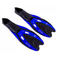 Комфортные ласты Dolvor F65SR Ocean, S(38-40) синий, галоша