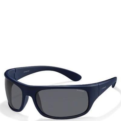 Солнцезащитные очки Polaroid Очки мужские спортивные в гибкой оправе с  ультралегкими поляризационными линзами POLAROID (ПОЛАРОИД) P07886-SZA66Y2 557347641979d