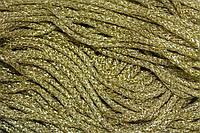 Шнур люр. 6мм.(100м) золото