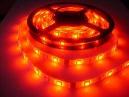 Светодиодная лента 3528 60 диодов\метр (SMD 3528R 60 LED 12 V) Герметичная Красная IP65, фото 2