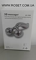 Лифтинг- массажер для лица и тела – 3D platinum roller XC-206.