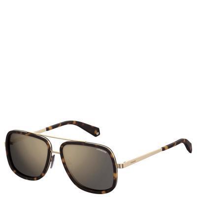 Солнцезащитные очки Polaroid Очки мужские с ультралегкими поляризационными  зеркальными линзами POLAROID (ПОЛАРОИД) P6033S-08657LM aba10f0fecd