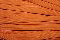Шнур плоский 15мм (100м) оранжевый плетение 4*64, фото 1