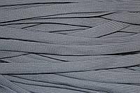 Шнур плоский 15мм (100м) св.серый плетение 4*64, фото 1
