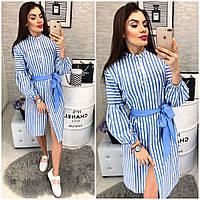 Платье рубашка в расцветках  24309, фото 1