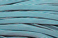 Шнур плоский 15мм (50м) мор.волна+белый, фото 1