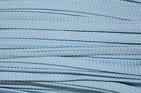Шнур плоский 8мм (100м) голубой