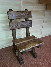 Набір №1 ГЕНУЯ 2,0 м брашированый 8 стільців, фото 3
