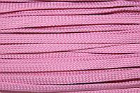 Шнур плоский 8мм (100м) розовый