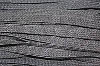 Шнур плоский ХБ 10мм (100м) черный