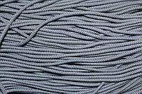 Шнур плотный 4мм (100м) св.серый