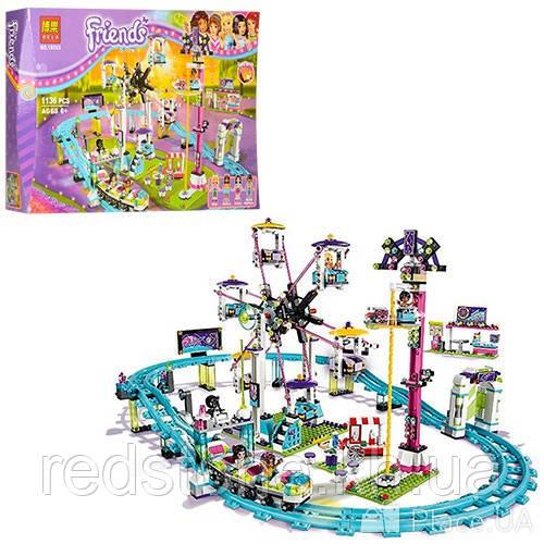 Конструктор  Bela Friends 10563 (LEGO Friends) ¨Парк развлечений: Американские горки¨, 1136 дет