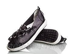 Детская обувь с перфорацией оптом. Детские туфли бренда Kellaifeng (Bessky) для девочек (рр. с 32 по 37)