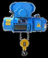Таль электрическая тип Т, г/п 4 t, высота подъёма: 6 - 12 m.
