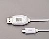 USB кабель с индикатором напряжения, фото 4