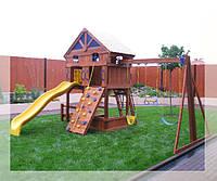 Детские площадки из дерева и металла