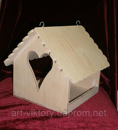 Кормушка для птиц Сердечко, фото 2