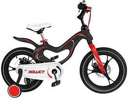 Дитячий двоколісний велосипед Hollicy 16 дюймів чорний