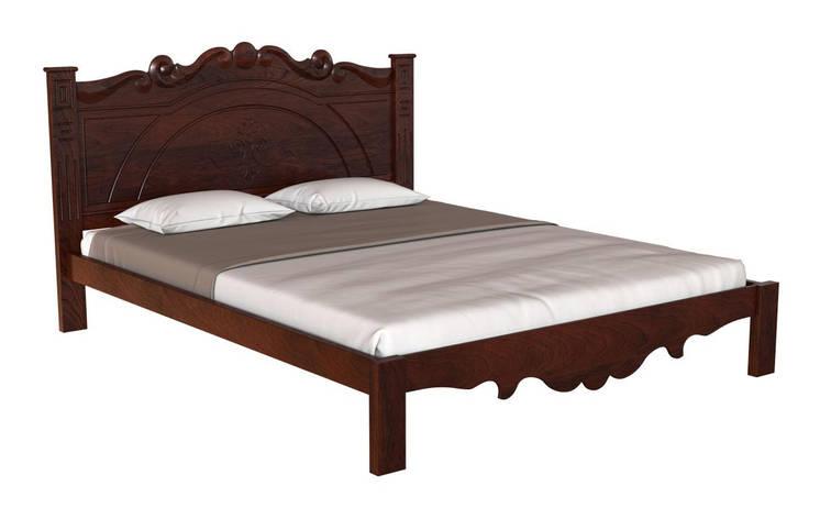 ✅ Деревянная кровать Л-224 160х190 см ТМ Скиф, фото 2
