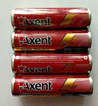 Батарейки  AXENT АА LR6 1.5V, 4 шт.(щелочные)