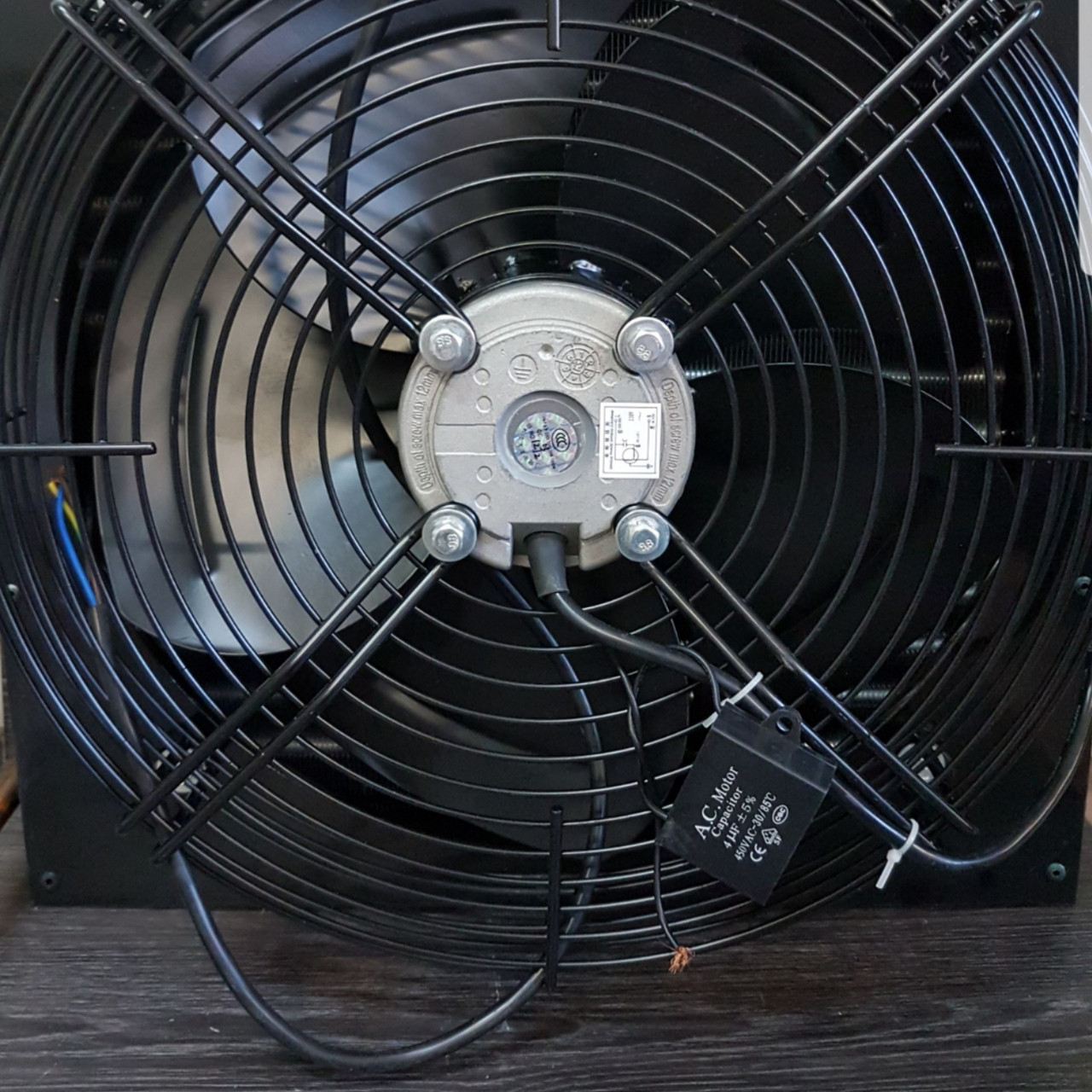 Осевой вентилятор обдува YWF4E-400-S  motor