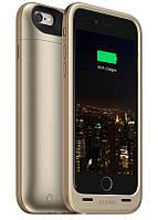 Аккумуляторный чехол Mophie Juice Pack Plus для iPhone 6/6S на 3300mAh [Золотой]