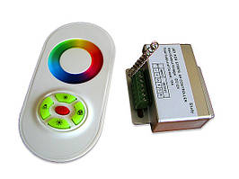 RGB-контроллер LED сенсорный (touch controller, 15А) радио