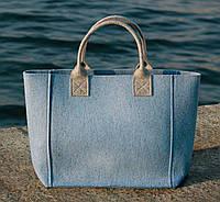 """Жіноча сумка з фетру """"Stylish thing2"""" сумка ручної роботи від української майстерні PalMar, сумка с войлока"""
