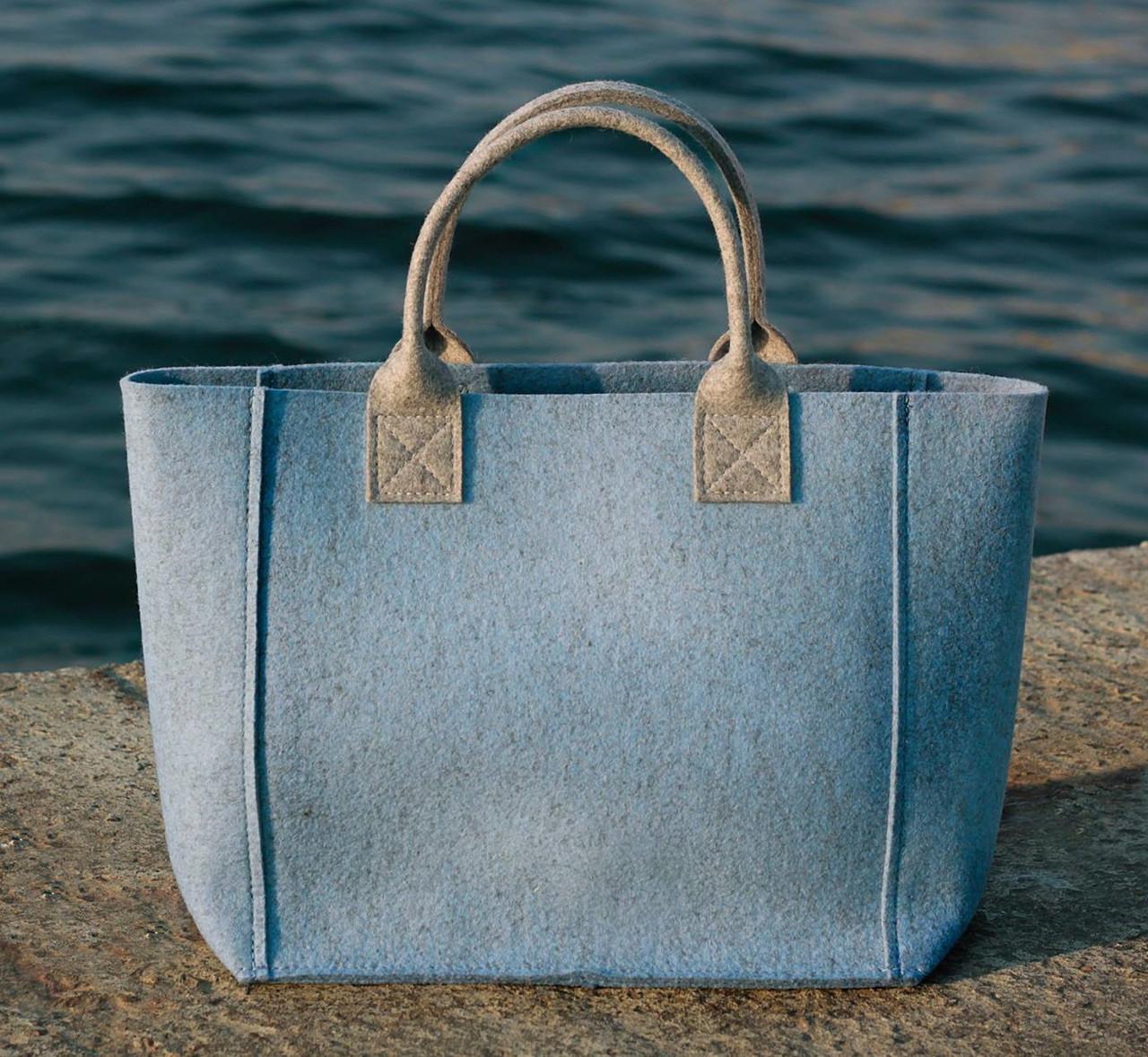 Жіноча сумка з фетру