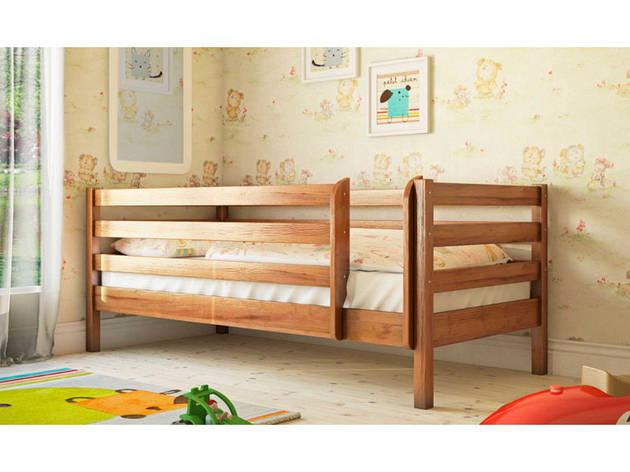 ✅ Деревянная кровать Л-135 90х190 см ТМ Скиф, фото 2