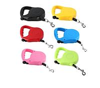 Поводок-рулетка для выгула собак 5м RETRACTABLE DOG LEASH