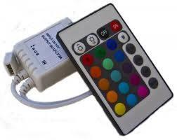 IR-S-44 RGB-контроллер IR инфракрасный (6А, 44 кнопок на пульте) LED