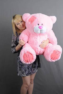 """Плюшевый мишка """"Тедди"""", розовый, 100 см."""
