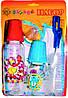 Набор подарочный (2 бутылочки, комплект ершиков, пустышка, слюнявчик), арт. 087
