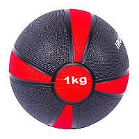 Мяч медбол гимнастический IronMaster(4/1) 1кг, d=19см
