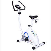 Белый велотренажер LET'S GO B0801A