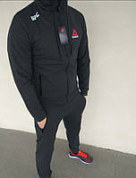 Спортивный костюм мужской темно-серый Reebok UFC
