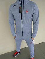 Спортивный костюм мужской серый Reebok UFC , фото 1