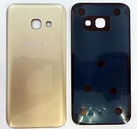 Задняя золотая крышка для Samsung Galaxy A3 2017 A320 A320F A320FL A320Y