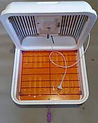 Рябушка SMART Turbo ручной переворот 70 яиц, цифровой, ТЭН, вентилятор