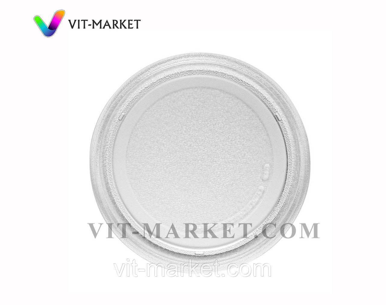 Стеклянная тарелка (поддон, блюдо) для микроволновки LG диаметр 245 мм код 3390W1G005A