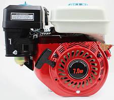 Двигатель мотоблочный в сборе под шпонку Ø20мм 7,0л.с. 170F