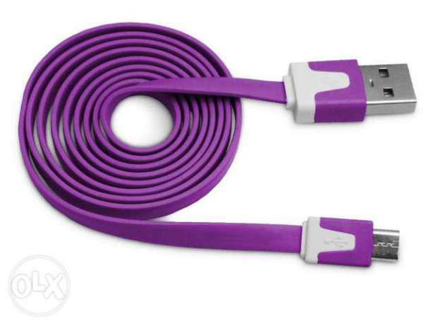 Кабель USB microUSB 1м