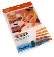 Вакуумные пакеты 70*100 для хранения вещей! Уменьшение объема в несколько раз, защита от влаги и пыли!