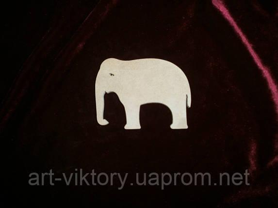 Слон (9,5 х 7,5 см), декор, фото 2