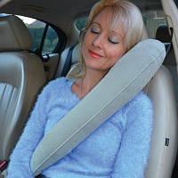 Подушкадля путешествий (дорожная) TravelRest Inflatable Luxury