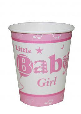 "Стакан ""Baby girl"" (6 шт), фото 2"
