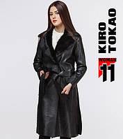 11 Киро Токао   Японское женское пальто весна-осень 8668 черный